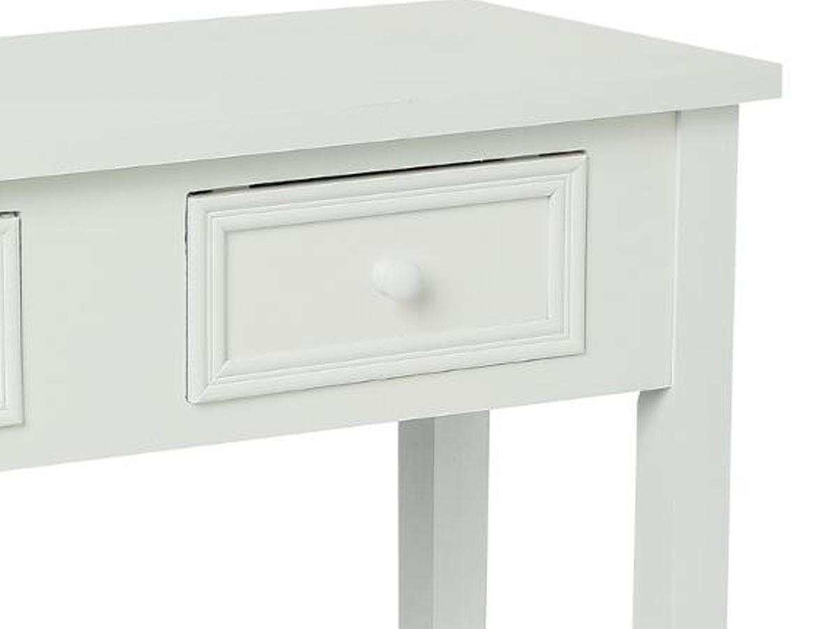 Console 2 tiroirs Charme