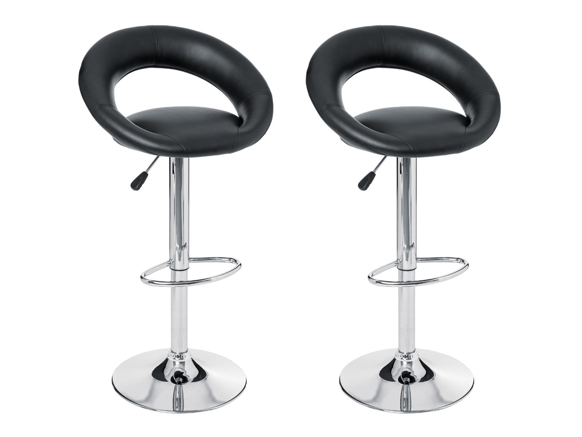 Lot de 2 tabourets de bar Sasha - Atmosphera