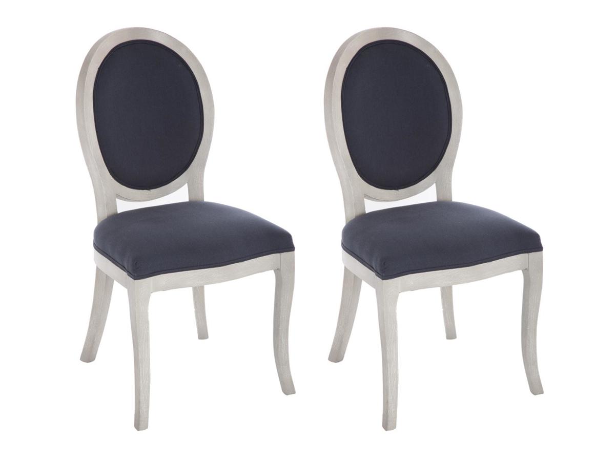 Lot de 2 chaises médaillon Cléon \\Instants volés\\\