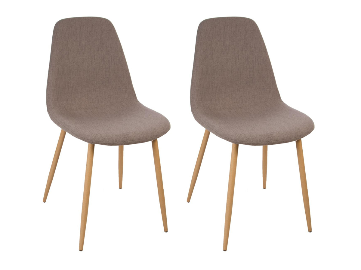 Lot de 2 chaises Roka Pastel Scandi