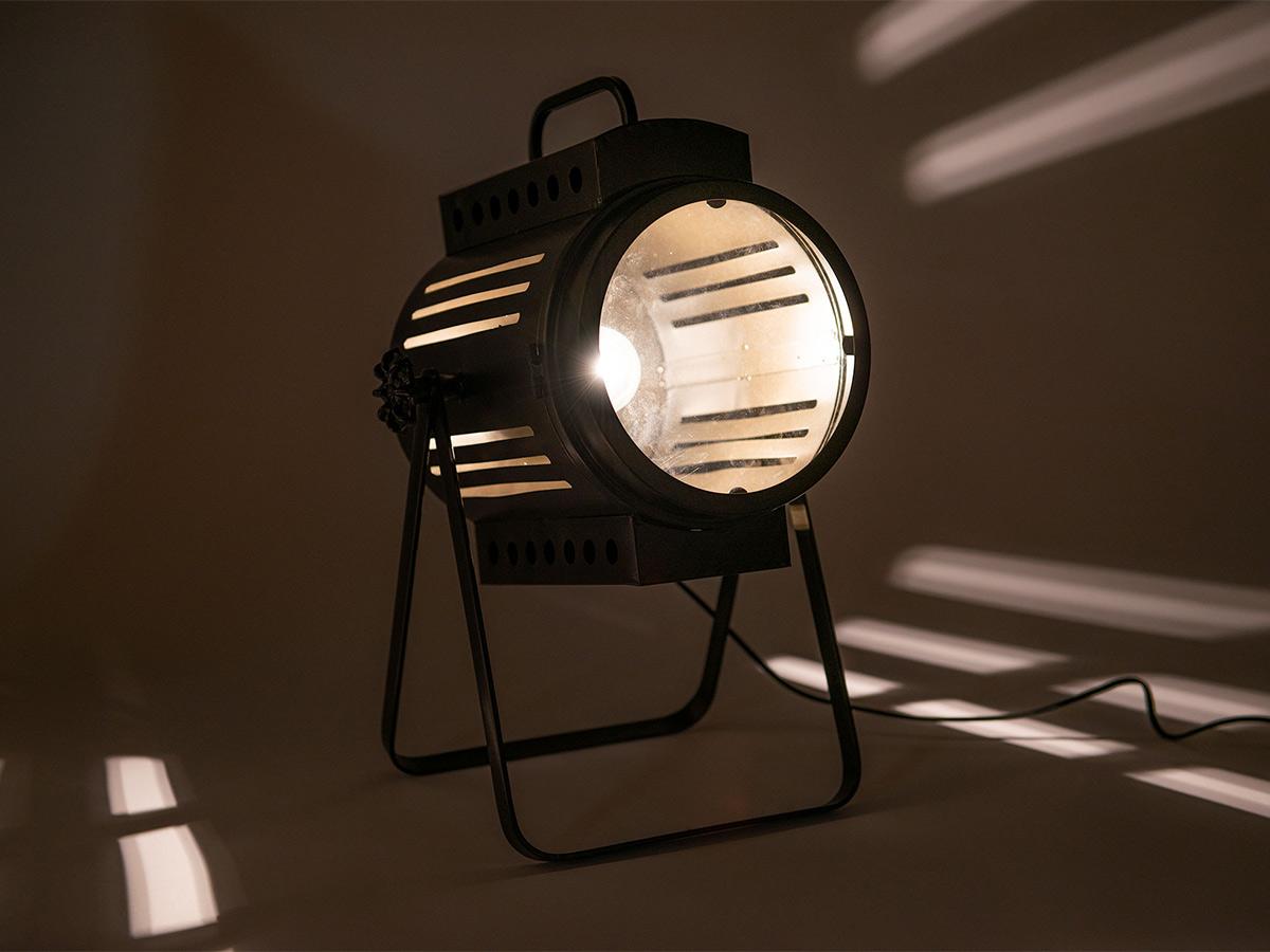 Lampe à poser spot industriel - Amadeus