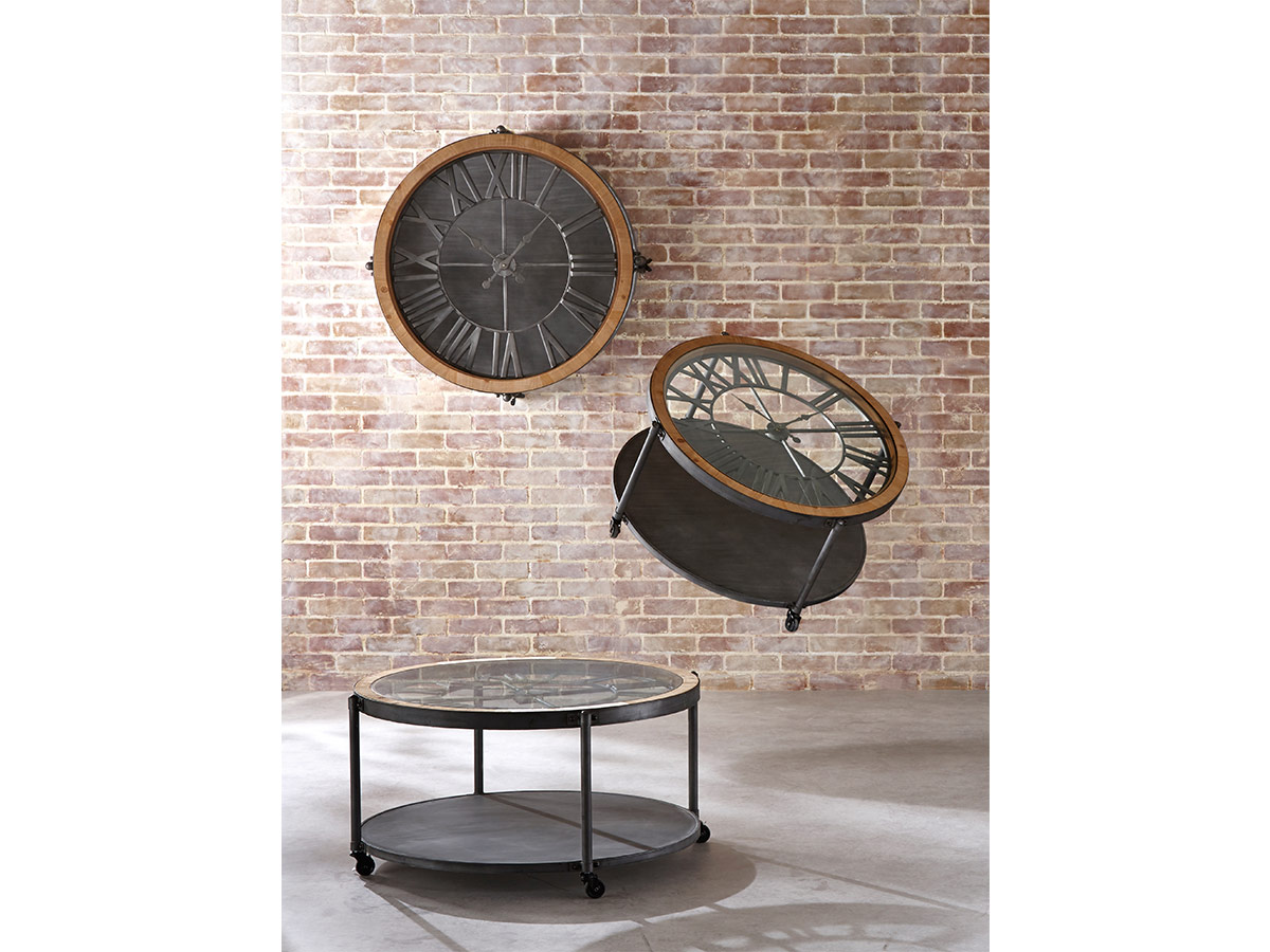 Table basse Horloge Chrono - Atmosphera