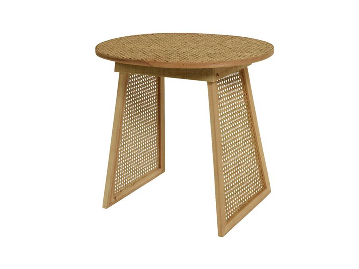Table d'appoint cannage - Nos Envies Déco
