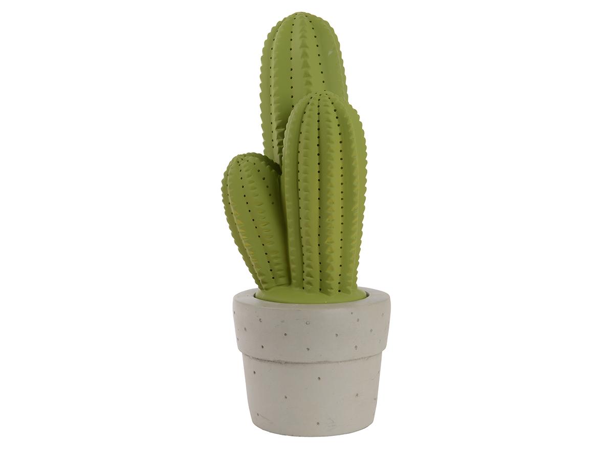 Cactus d/écoratifs blanc mat 3 pi/èces Bloomingville