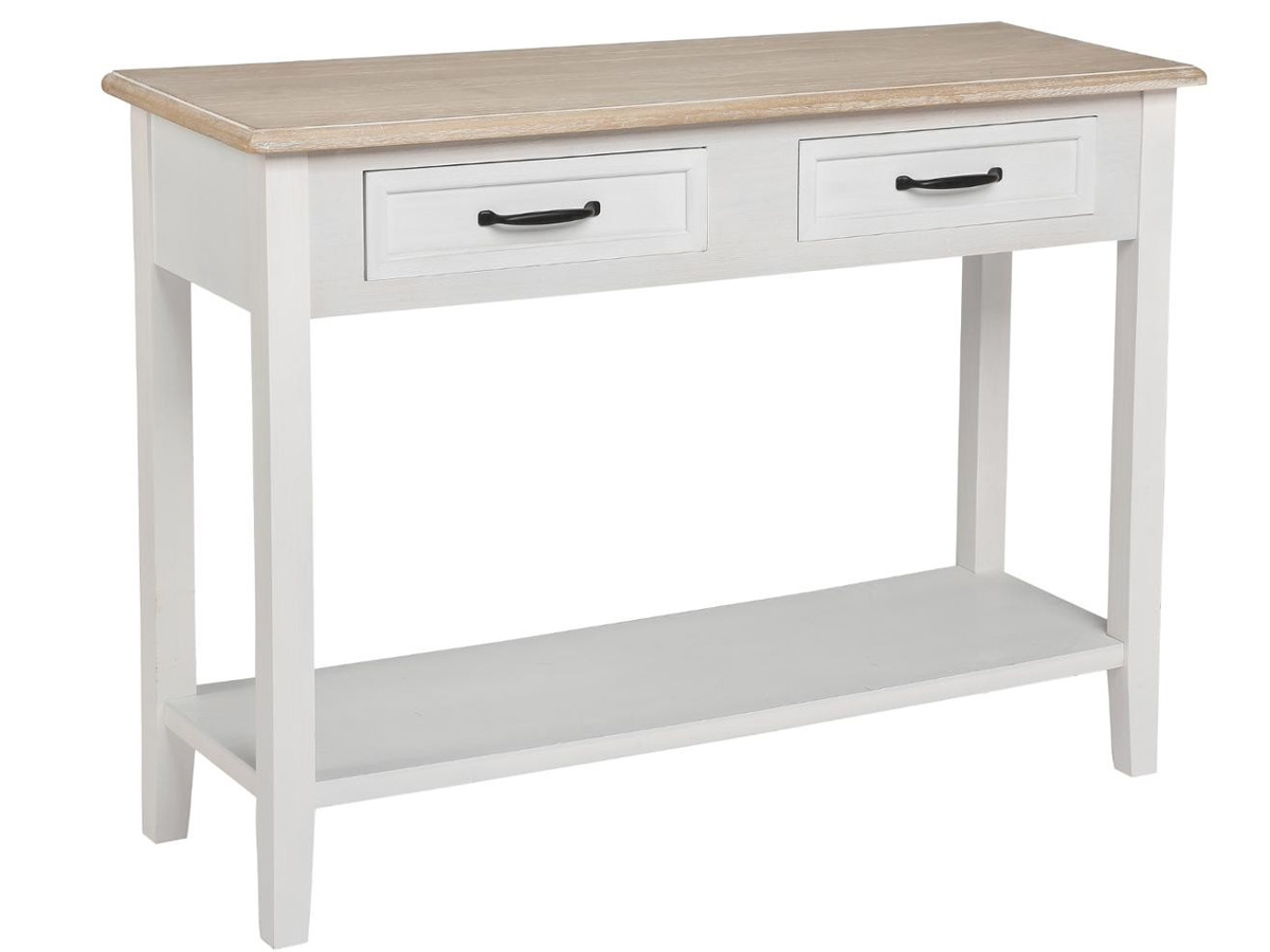 Console 2 tiroirs Damian \\Bistrot d'Antan\\\