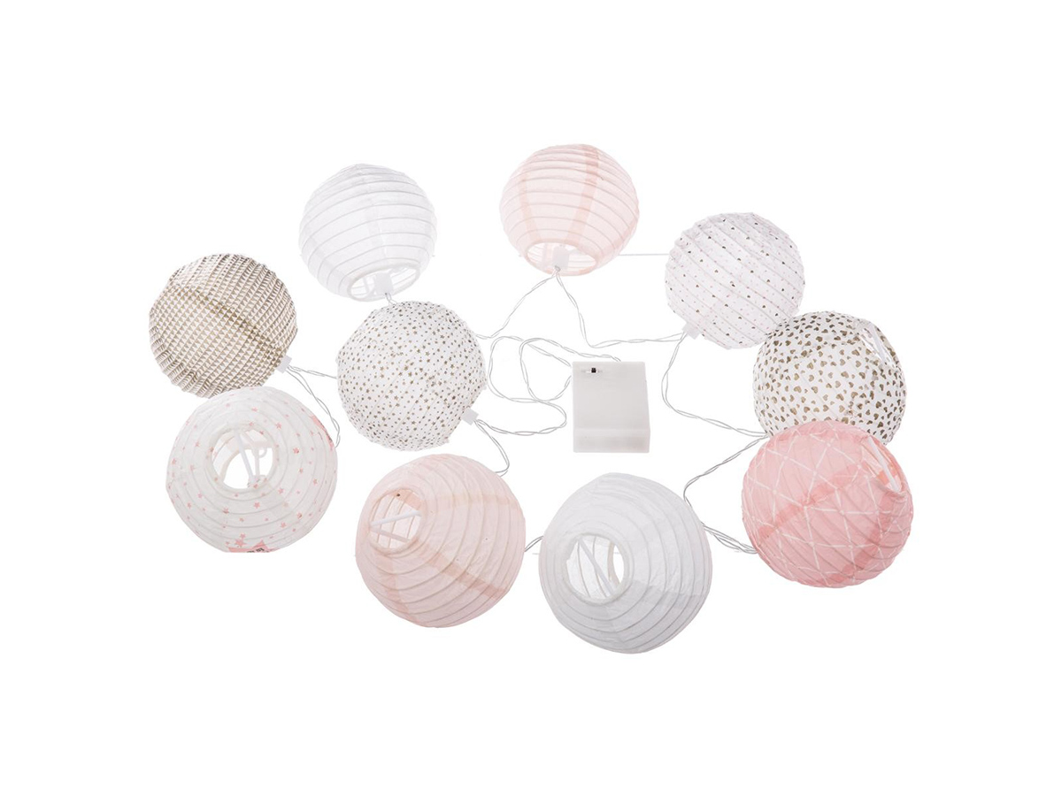 Guirlande Led 10 boules - Atmosphera