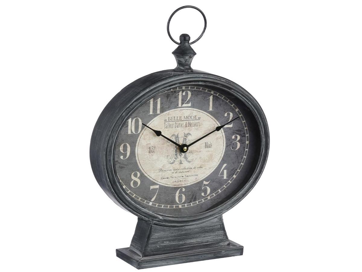 Horloge à poser en métal \\Jardin d'hiver\\\