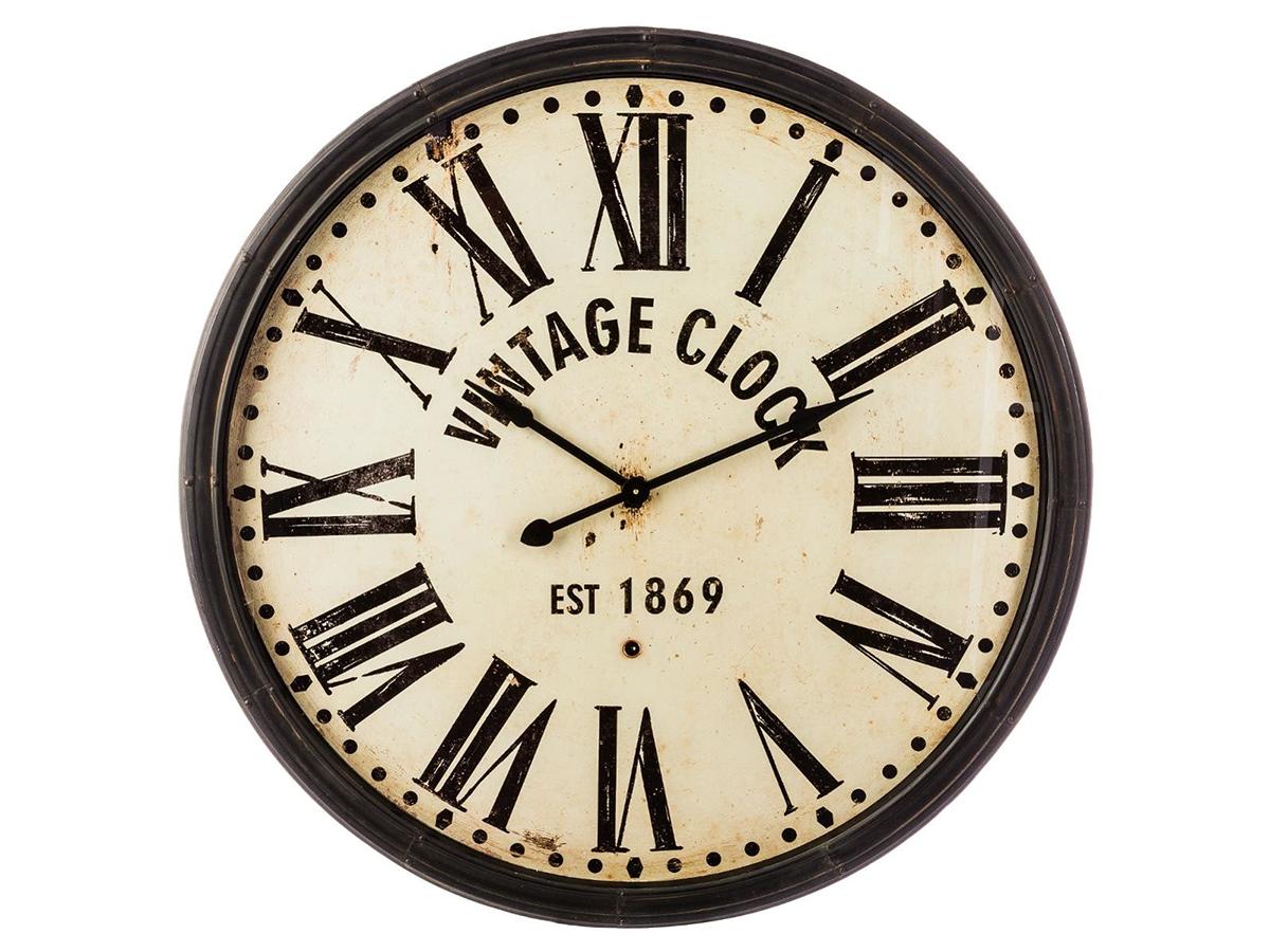 Horloge en métal Vintage Clock - Atmosphera