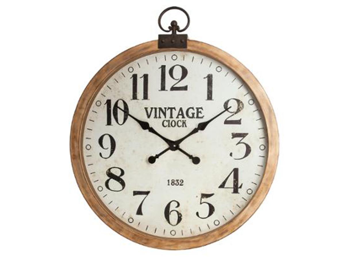 Horloge en bois Gousset - Atmosphera