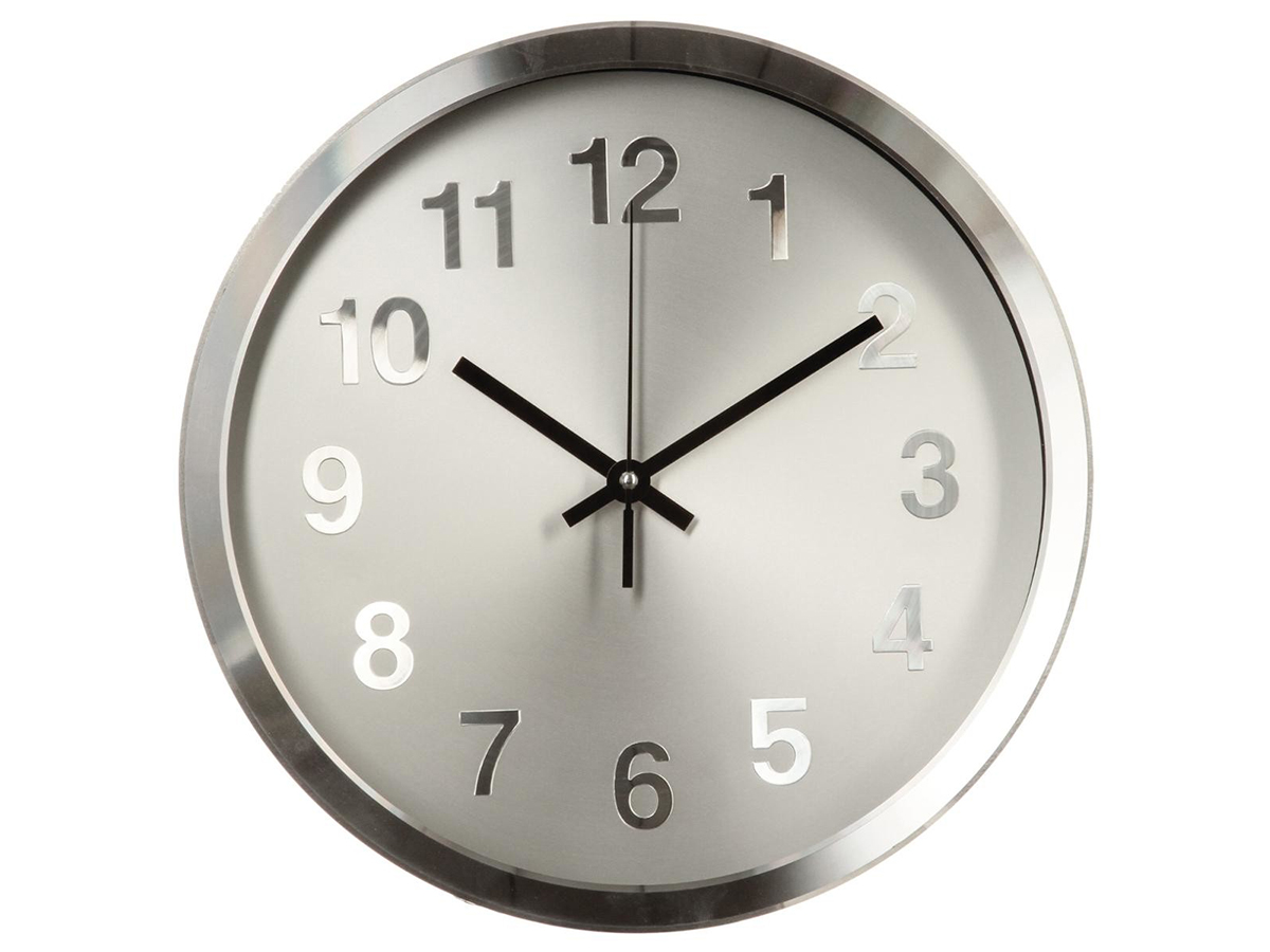 Horloge en aluminium - Atmosphera