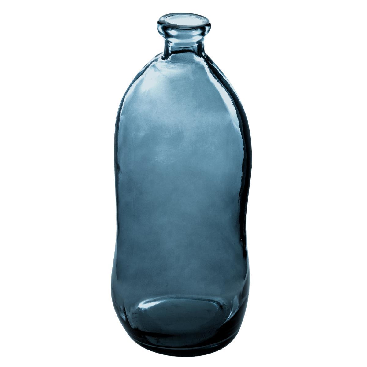 Vase bouteille verre recyclé H73 - Atmosphera
