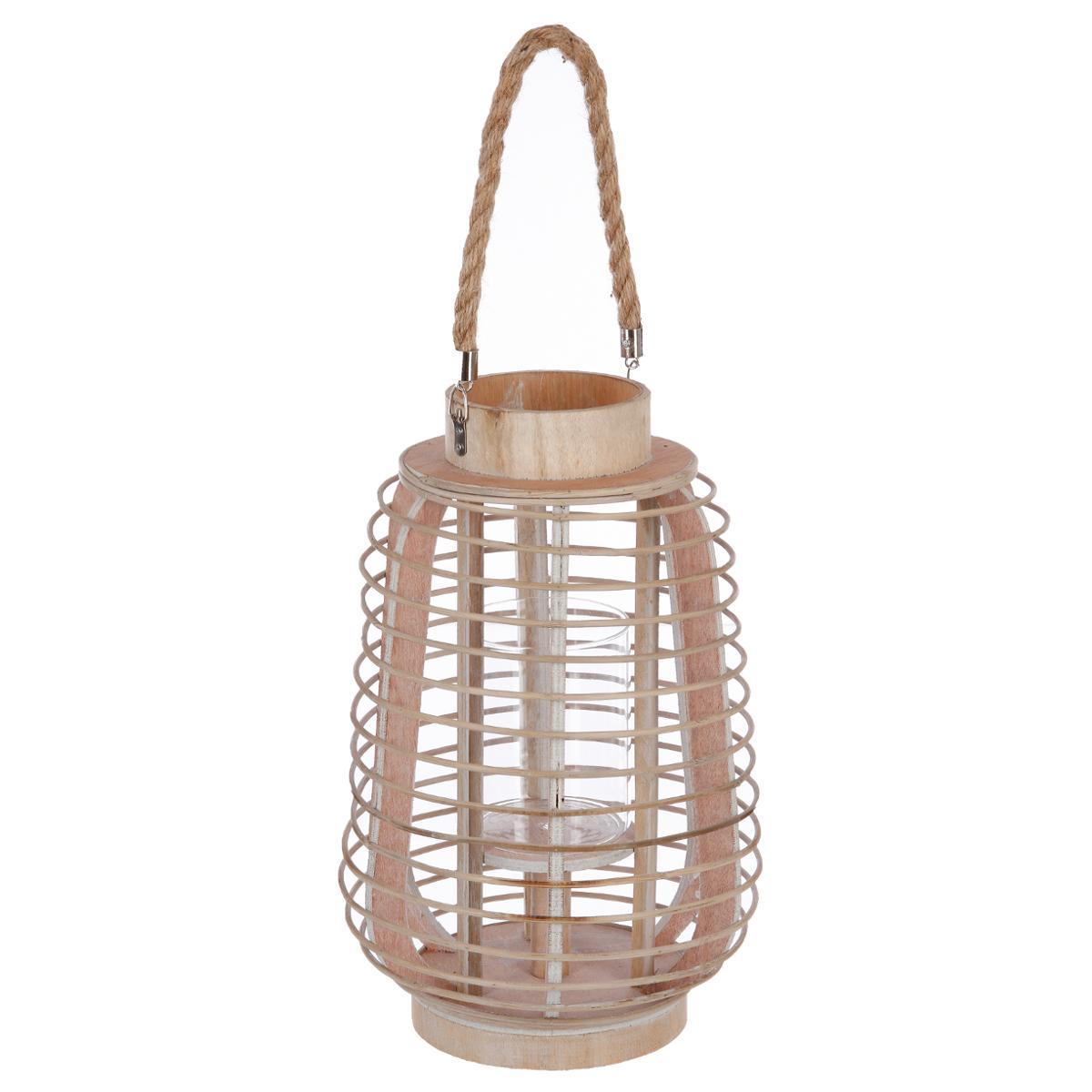 Lanterne rotin H33