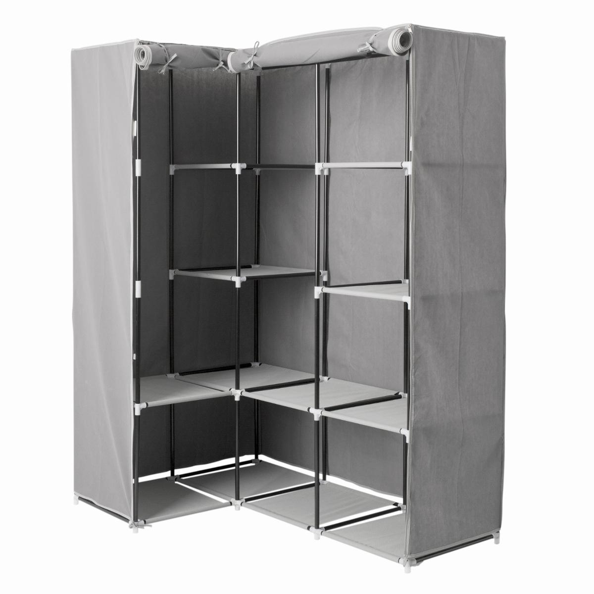 Armoire d''angle 1 penderie