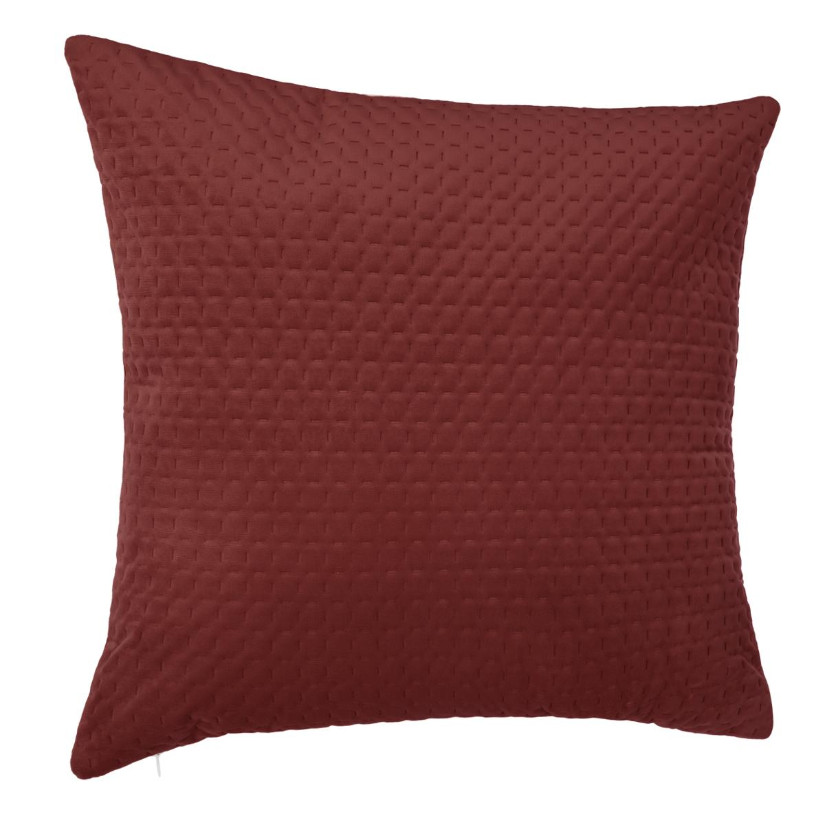 """Calitime Pillows Throw Coussin Couvre Solide Doux Velours Maïs rayures 22/"""" X 22/"""""""