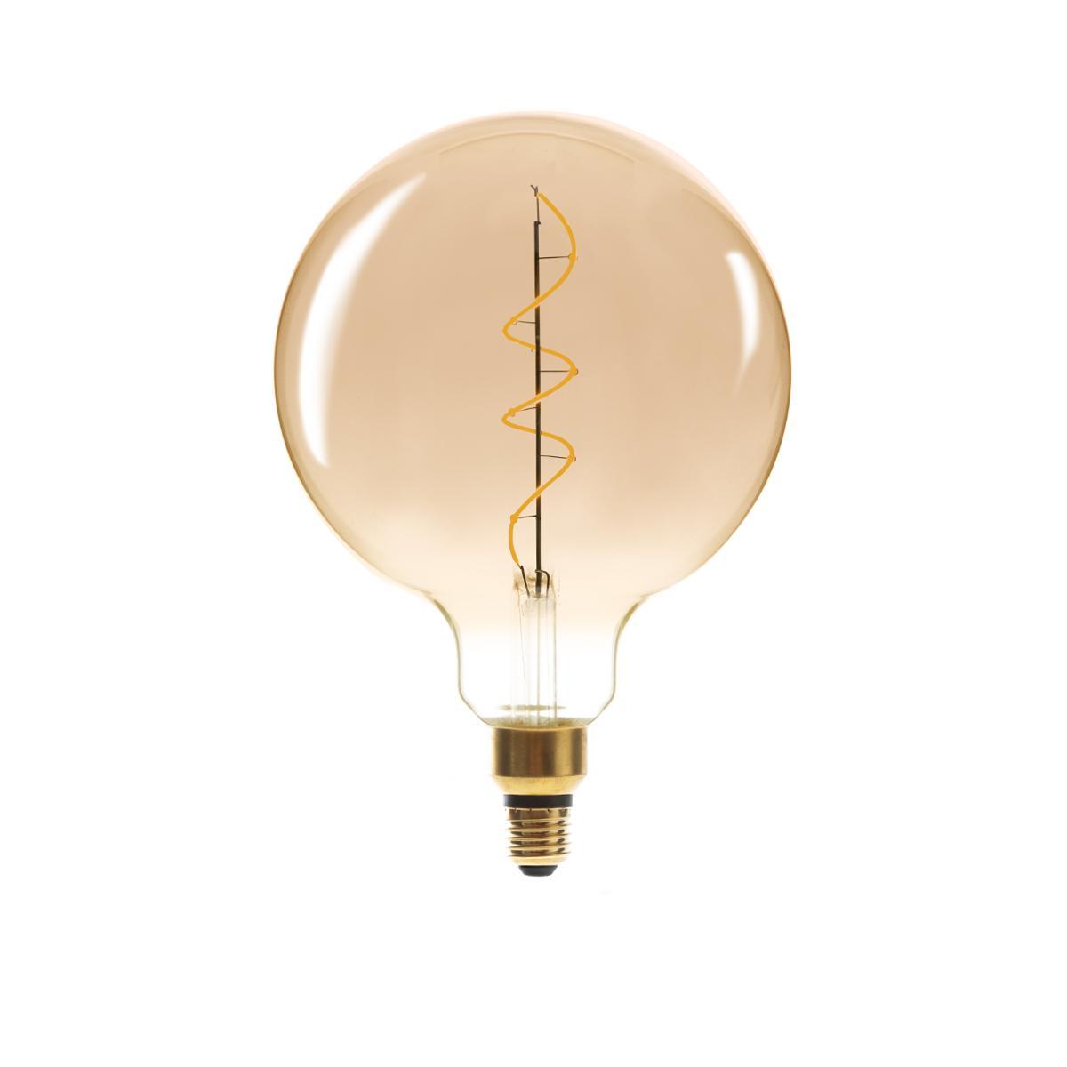 Ampoule LED Torsad Ambrée G200 6W