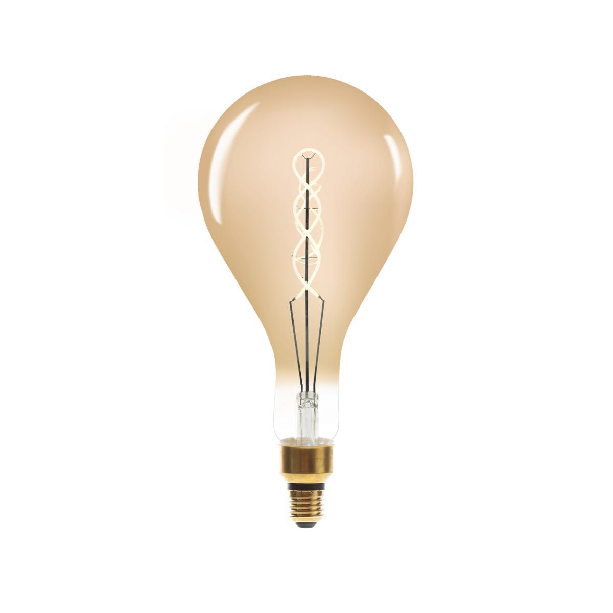 Ampoule LED Torsad Ambrée PS160 6W