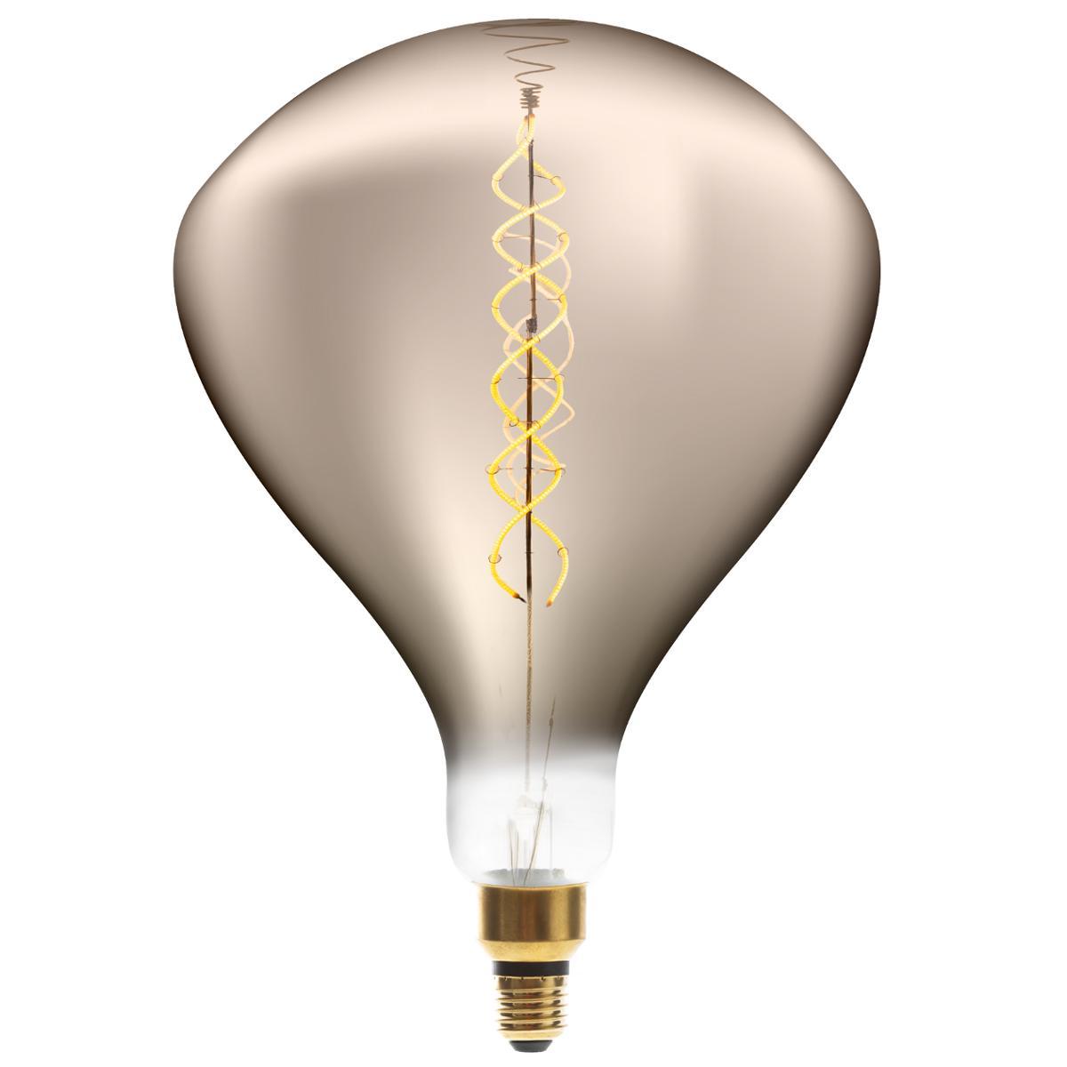 Ampoule LED Torsad Fumée R250 6W