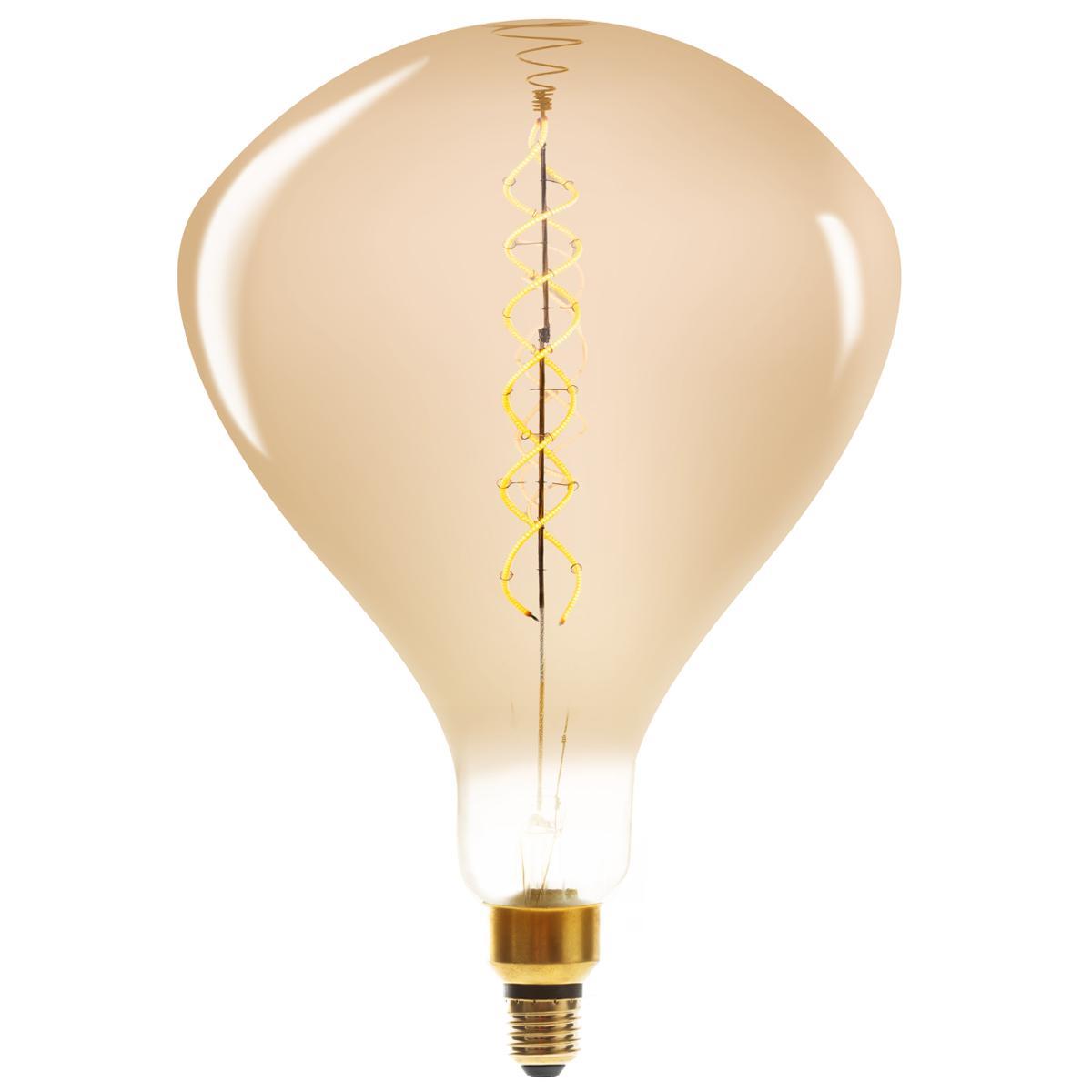 Ampoule LED Torsad Ambrée R250 6W