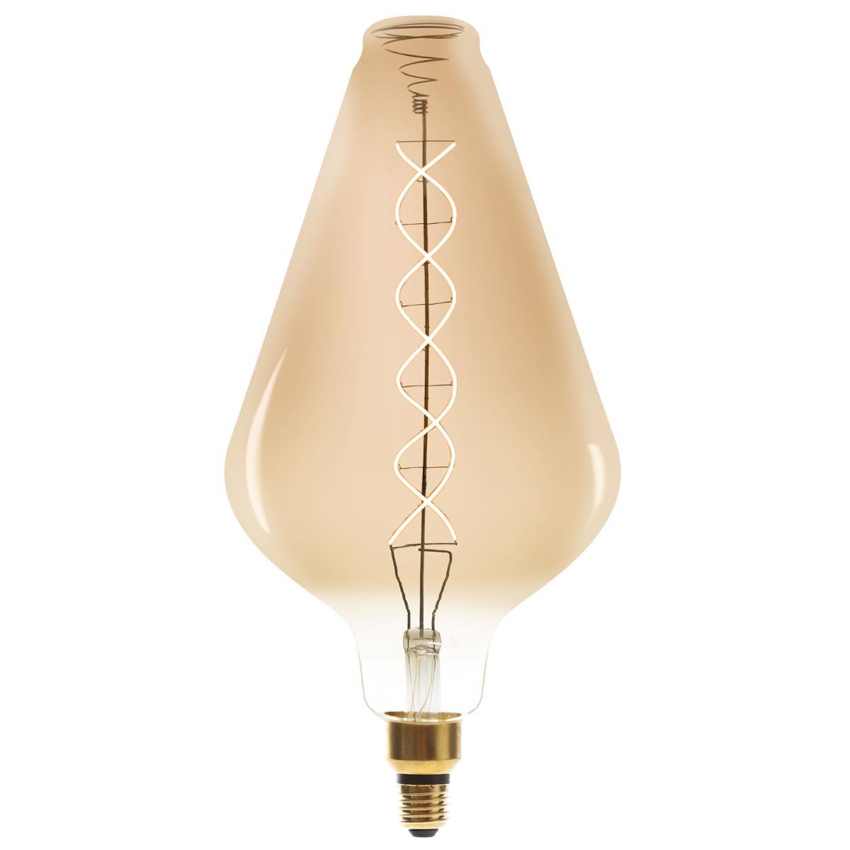 Ampoule LED Torsad Ambrée VA188 6W