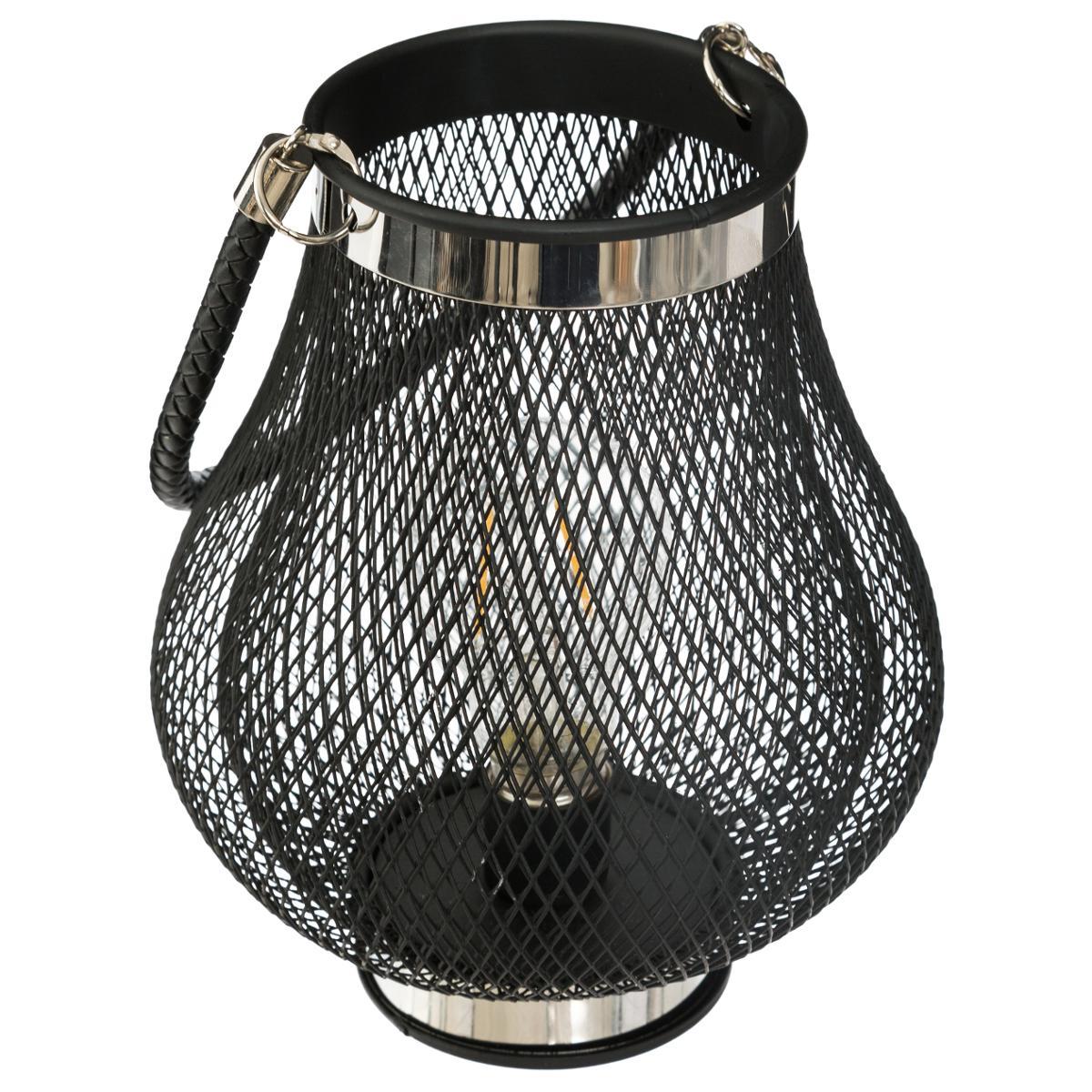 Lanterne LED en Métal D18 - Atmosphera