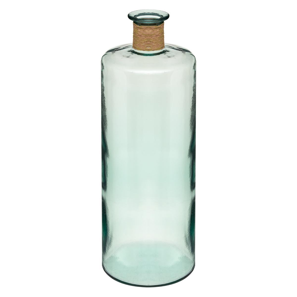 Vase Épaule en Verre Recyclé H 75 - Atmosphera