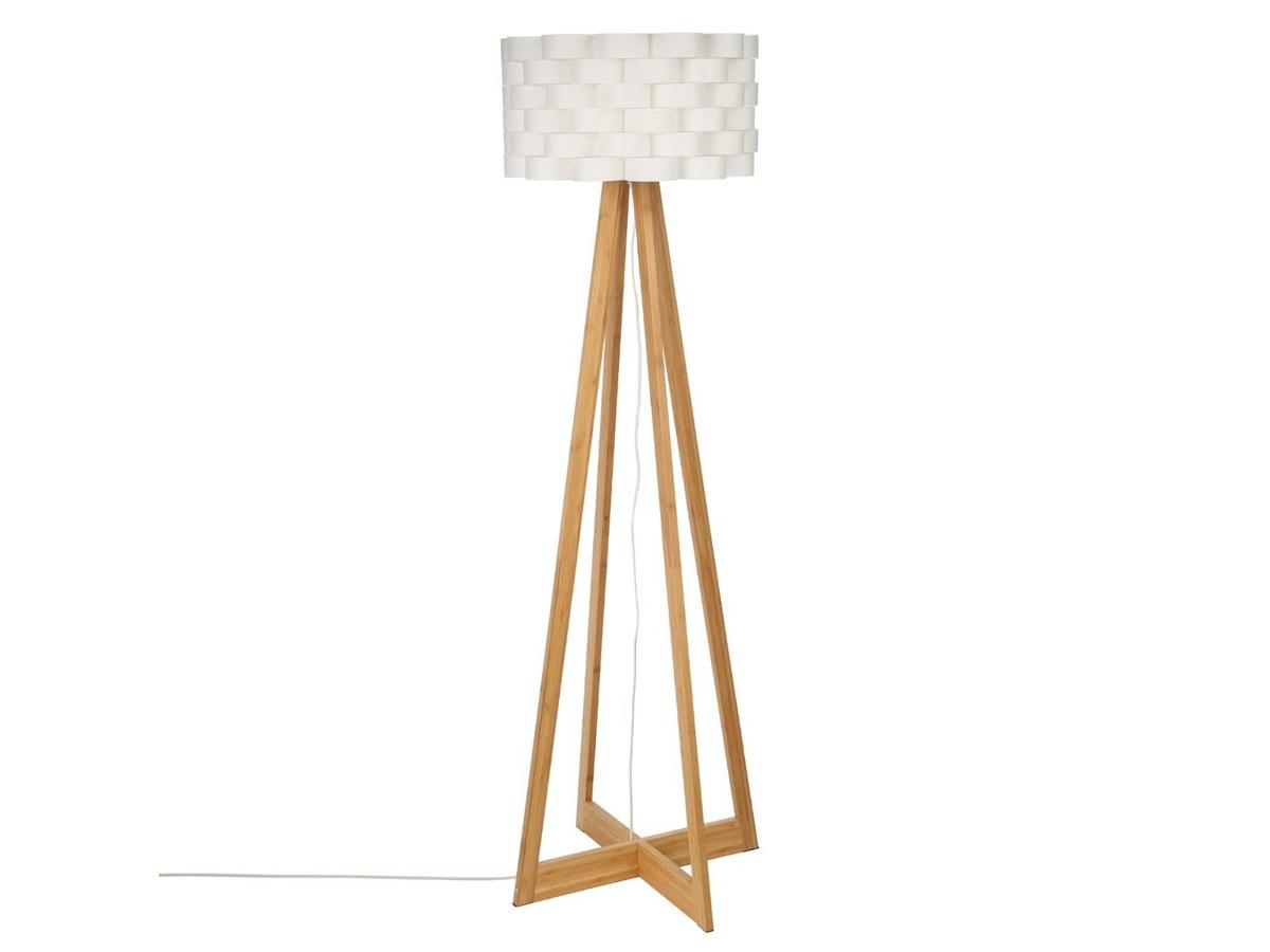 Lampadaire en bambou Moki - Atmosphera