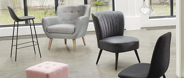 Mobilier : notre sélection de fauteuils design à prix tout doux !