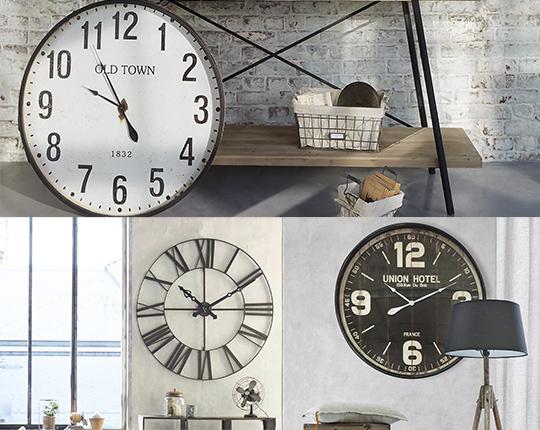 Horloges murales déco & design pour votre intérieur à prix mini