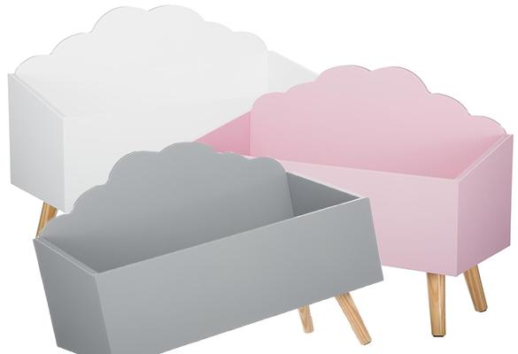 Coffre à jouets - Coffre à jouets nuage - Atmosphera - ATMOSPHERA