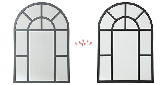 miroir miroir arche atmosphera atmosphera. Black Bedroom Furniture Sets. Home Design Ideas