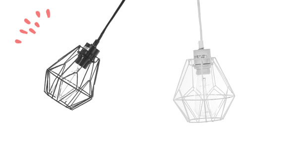 lustre suspension suspension en m tal origami atmosphera atmosphera. Black Bedroom Furniture Sets. Home Design Ideas