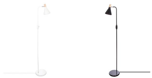 Lampadaire lampadaire en m tal sean atmosphera - Lampadaire noir et blanc ...