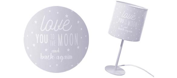 lampe de chevet enfant lampe de chevet imprim e. Black Bedroom Furniture Sets. Home Design Ideas