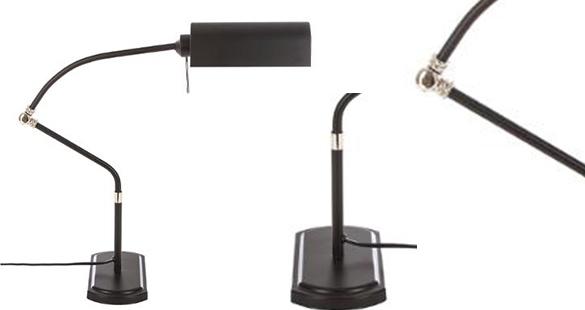 Lampe de bureau lampe de bureau en métal bank atmosphera