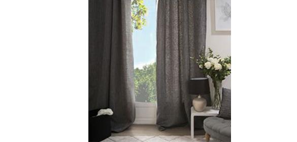 rideau occultant rideau 140 x 260 cm manu walnut. Black Bedroom Furniture Sets. Home Design Ideas