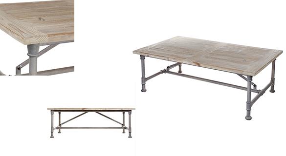 table basse table basse chalipa esprit campagne. Black Bedroom Furniture Sets. Home Design Ideas