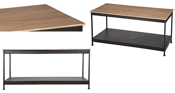 table basse table basse joris hipster home atmosphera. Black Bedroom Furniture Sets. Home Design Ideas