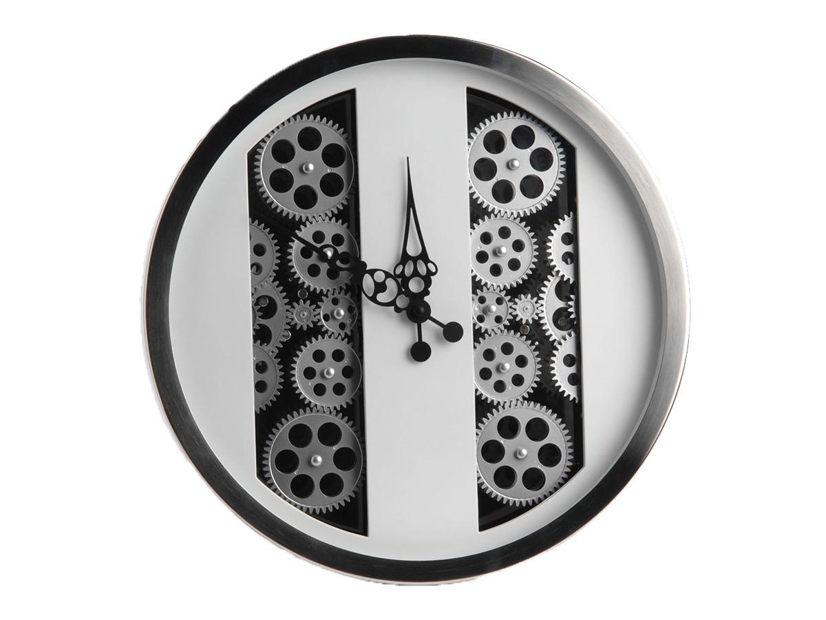 Horloge blanche mécanisme - Amadeus