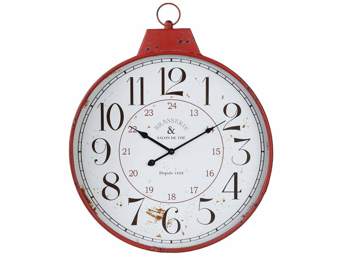 Horloge en métal \\Bistrot d'Antan\\\