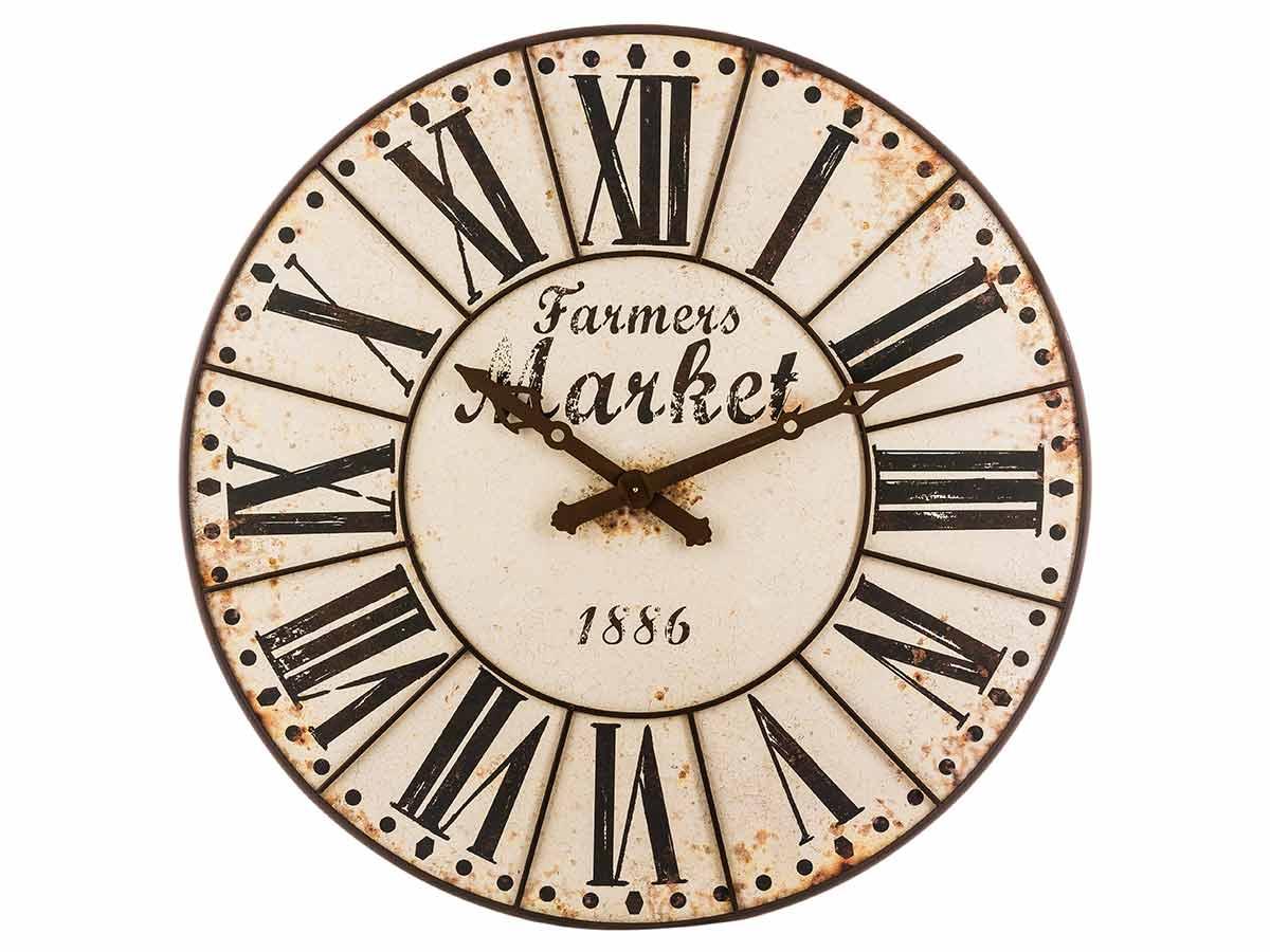 Horloge en métal Vintage \\Esprit Récup\\\