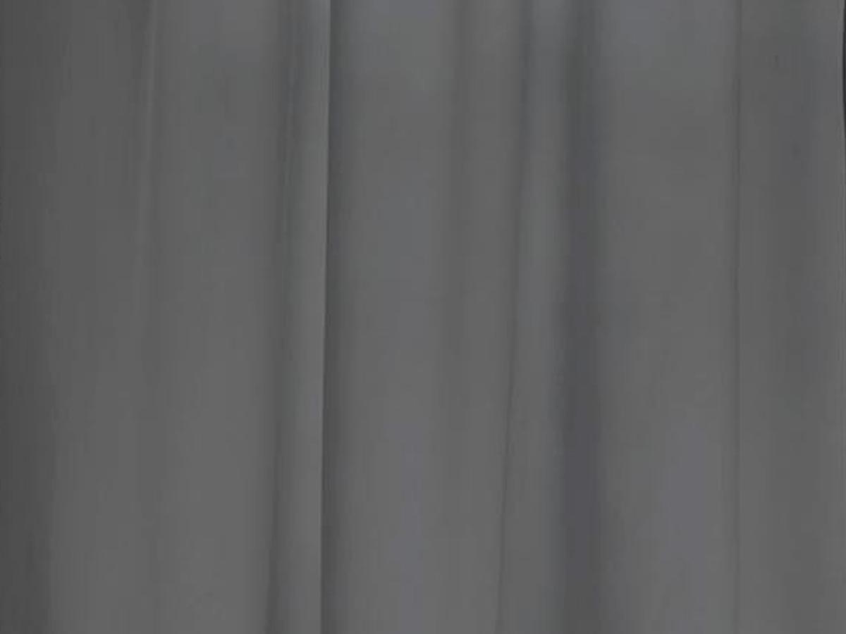 Rideau 140 x 260 cm Lilou - gris foncé - Atmosphera