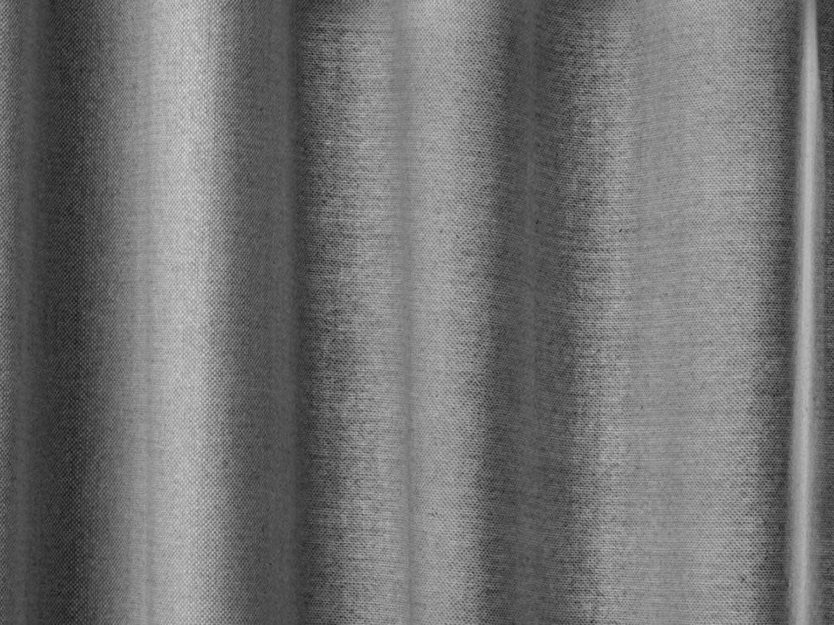 Rideau 140 x 260 cm Manoe - gris foncé - Atmosphera