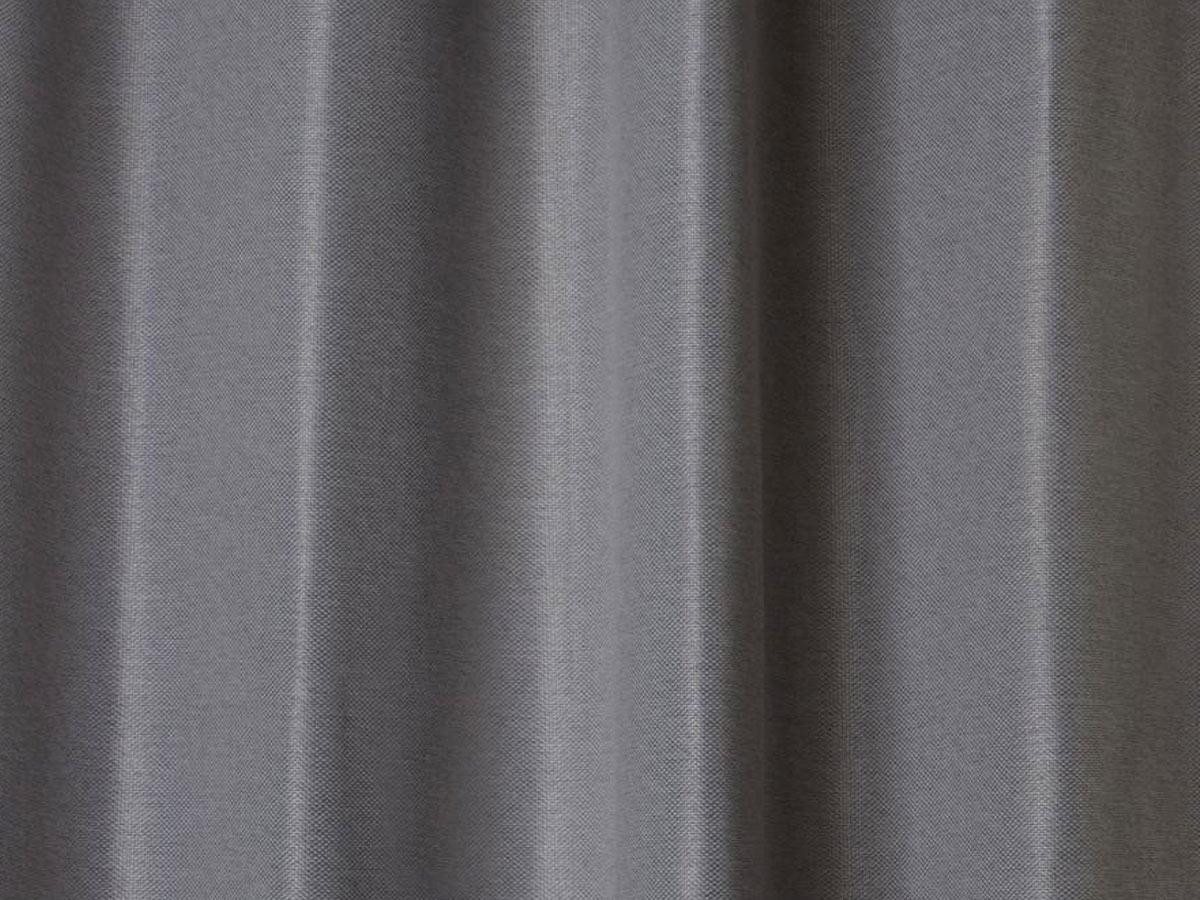 Rideau occultant 140 x 260 cm Elena - gris foncé - Atmosphera