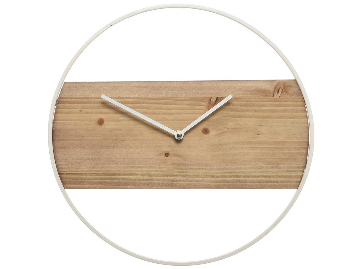 Horloge bois et métal - Nos Envies Déco