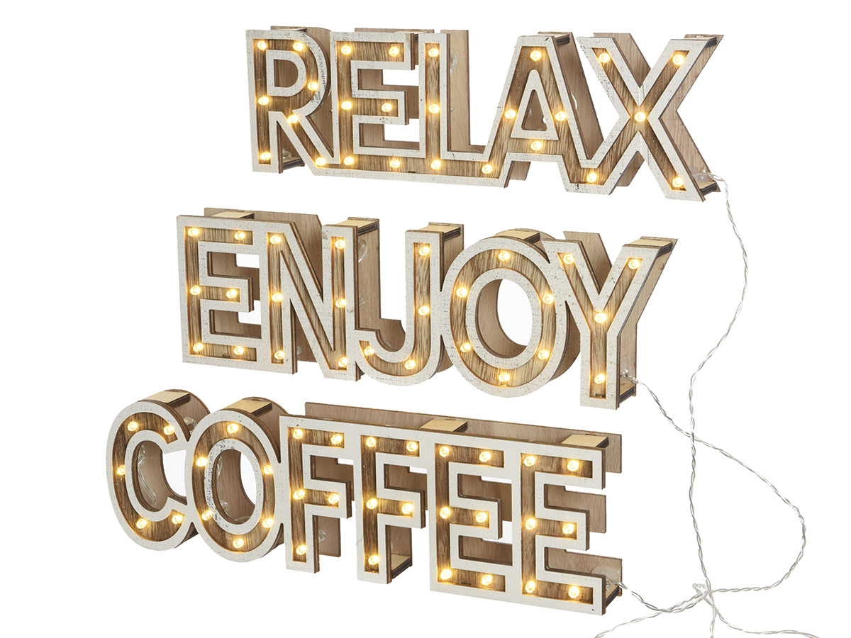 Mot lumineux Coffee - Nos Envies Déco