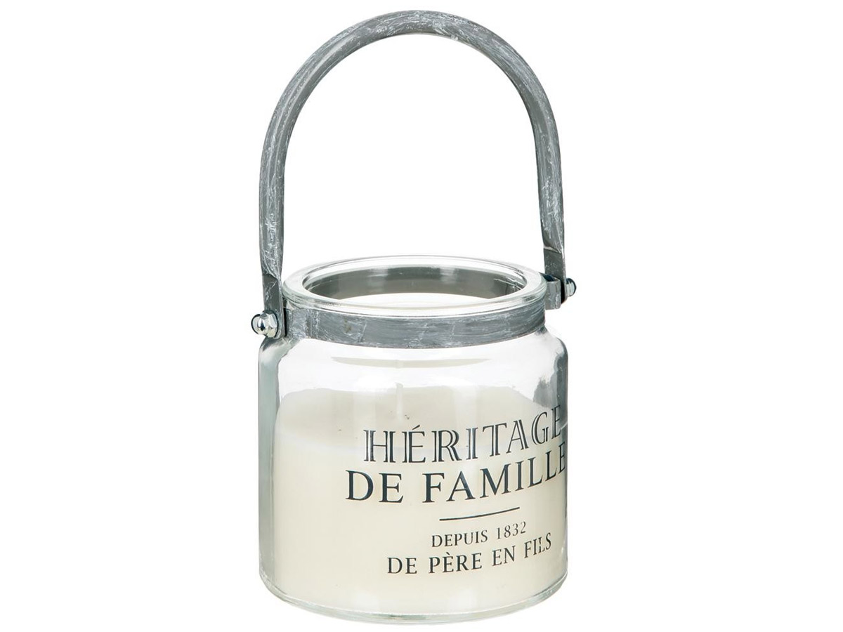 Bougie parfumée pot avec poignée \\Bistrot d'Antan\\\