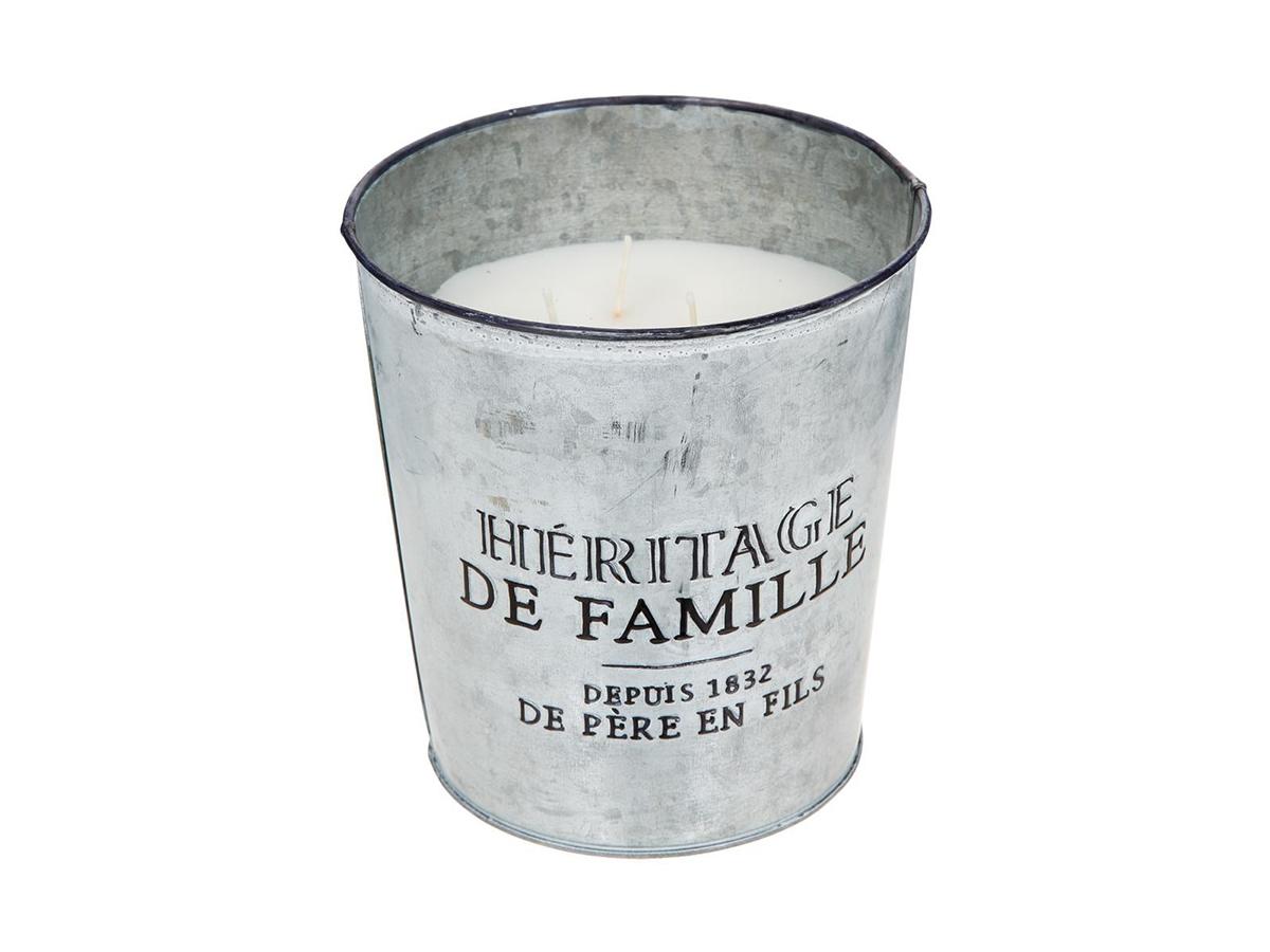 Bougie parfumée pot en zinc \\Bistrot d'Antan\\\