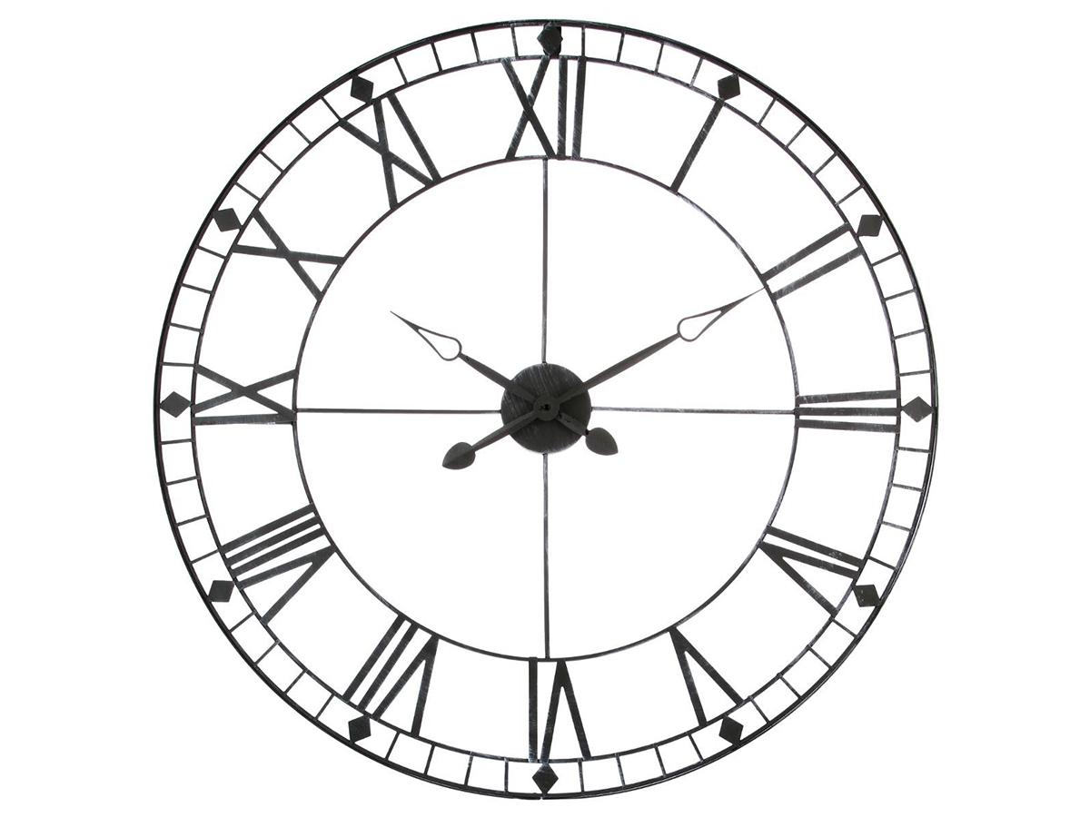 Horloge en métal vintage - Atmosphera